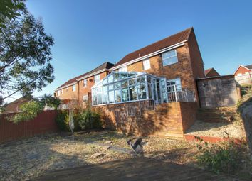Thumbnail 4 bedroom detached house for sale in Rockfield Crescent, Undy, Caldicot