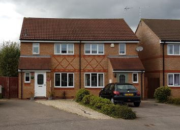 Thumbnail 3 bedroom terraced house to rent in Smart Close, Thorpe Astley