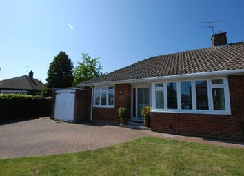 Thumbnail 2 bed semi-detached bungalow for sale in Montagu Avenue, Gosforth, Newcastle Upon Tyne