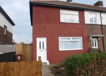 Thumbnail 3 bed end terrace house for sale in Jesmond Gardens, Hartlepool