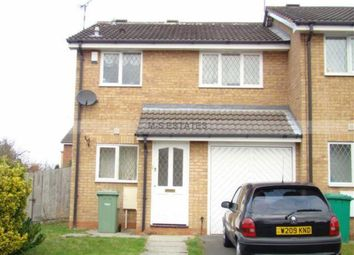 Thumbnail 3 bedroom end terrace house to rent in Kittiwake Mews, Lenton, Nottingham