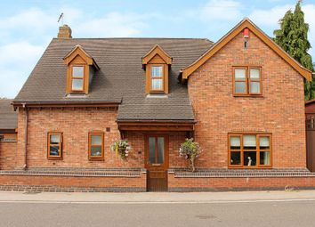 Thumbnail 4 bed detached house for sale in Leicester Road, Shilton, Warwickshire