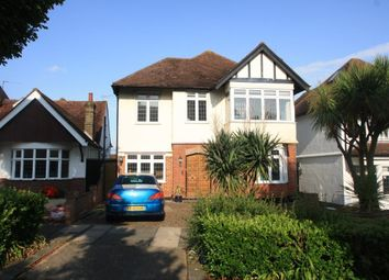 Thumbnail 4 bed detached house for sale in The Drive, Westcliff-On-Sea