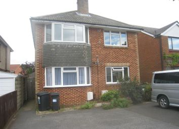 Thumbnail 2 bed flat to rent in De Lisle Road, Winton, Bournemouth