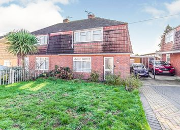 3 bed semi-detached house for sale in Robson Drive, Hoo, Rochester, Kent ME3