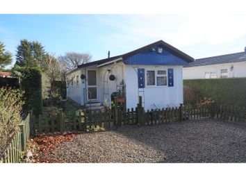 Thumbnail 2 bed mobile/park home for sale in Honicombe Park, Callington