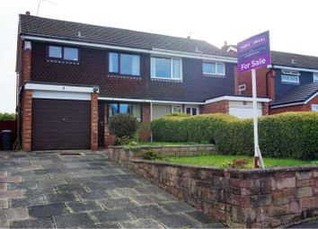 Thumbnail 3 bed semi-detached house for sale in Ellington Close, Stoke-On-Trent