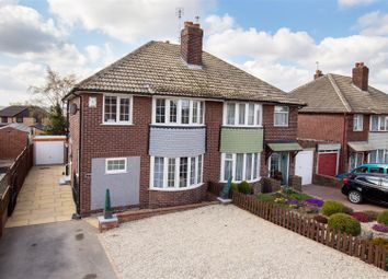 Thumbnail 3 bed semi-detached house for sale in Lawefield Avenue, Rothwell, Leeds