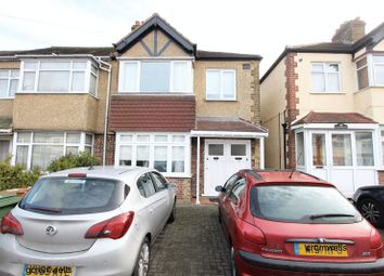 Thumbnail 1 bed flat for sale in Matlock Crescent, North Cheam, Sutton