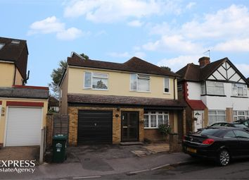 Thumbnail 4 bed detached house for sale in Linkscroft Avenue, Ashford, Surrey