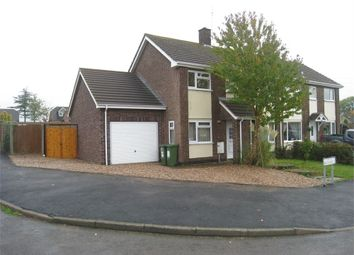 Thumbnail 3 bed semi-detached house to rent in Brookfield, Sharnford, Hinckley, Leicestershire