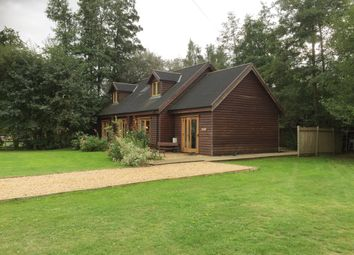 Thumbnail 4 bed lodge for sale in Common Road, Pentney, King's Lynn