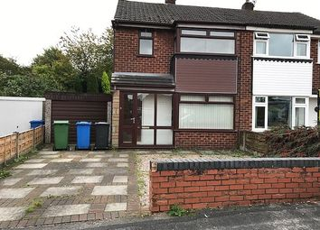 Thumbnail 3 bedroom semi-detached house to rent in Severn Road, Culcheth, Warrington