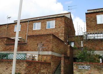Thumbnail 2 bed maisonette to rent in Brundish, Basildon