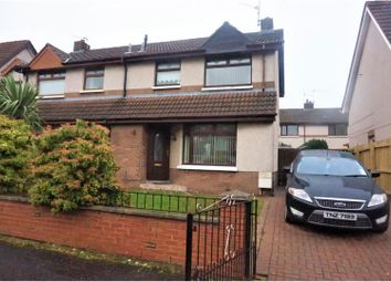 Thumbnail 3 bed semi-detached house for sale in Rosgoill Drive, Belfast