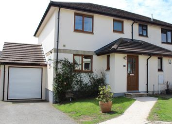 Thumbnail 3 bed semi-detached house for sale in Parc Holland, Helston