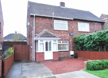 Thumbnail 2 bed semi-detached house to rent in Glanton Avenue, Seaton Delaval, Whitley Bay