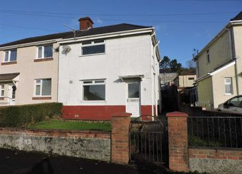 Thumbnail 3 bedroom semi-detached house for sale in Brynawel, Pontardawe, Swansea