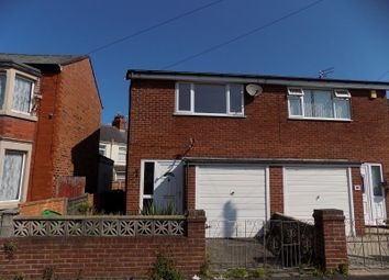 Thumbnail 2 bed semi-detached house for sale in Harcourt Road, Blackpool