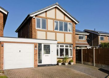 Thumbnail 3 bed detached house for sale in Brampton Drive, Heath Hayes, Cannock