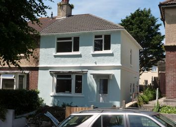 Thumbnail 3 bed semi-detached house for sale in Halcyon Road, Plymouth