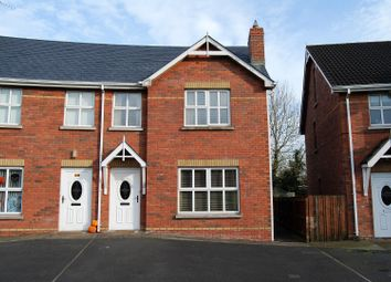 Thumbnail 3 bed town house for sale in Oakfields, Craigavon