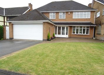 Thumbnail 4 bed detached house for sale in Seaton Close, Burbage, Hinckley