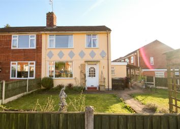 Thumbnail 3 bed semi-detached house for sale in Meadow Road, Barlaston, Stoke-On-Trent