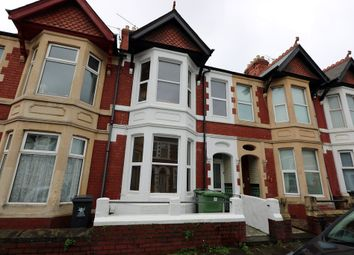 Thumbnail 5 bedroom terraced house for sale in Lisvane Street, Cathays, Cardiff