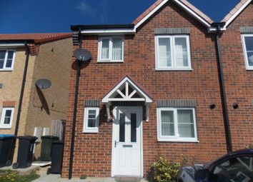 Thumbnail 3 bed semi-detached house to rent in Blenheim Road South, Middlesbrough