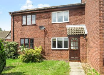 Thumbnail 2 bedroom terraced house for sale in Warren Avenue, Thurmaston, Leicester