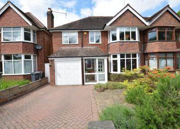 Thumbnail 4 bed semi-detached house for sale in Park Hill Road, Harborne, Birmingham