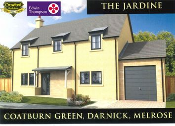 Thumbnail 4 bed detached house for sale in Plot 14, Coatburn Green, Darnick, Melrose