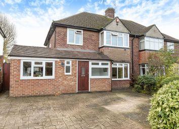 Thumbnail 3 bed semi-detached house for sale in Craddocks Avenue, Ashtead