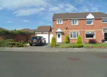 Thumbnail 3 bed semi-detached house for sale in Cairngorm Drive, Darlington