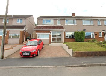 Thumbnail 4 bed semi-detached house for sale in Duffryn Close, Bassaleg, Newport