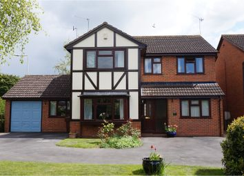 Thumbnail 4 bed detached house for sale in Newton Road, Bromsgrove