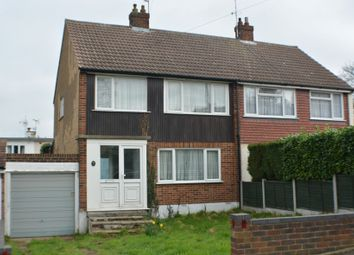 Thumbnail 3 bed semi-detached house for sale in 15 Down Hall Close, Rayleigh, Essex