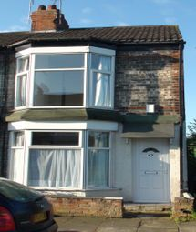 Thumbnail 2 bedroom terraced house to rent in Manvers Street, Off Newlands Avenue, Kingston Upon Hull