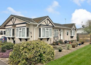 Thumbnail 2 bed mobile/park home for sale in Waterend Park, Old Basing, Basingstoke