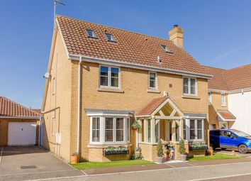 Thumbnail 4 bed detached house for sale in Moughton Court, King's Lynn, Norfolk
