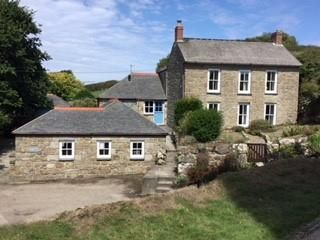 Thumbnail 4 bed detached house for sale in Underhill, Churchtown, Porthcurno, St Leven