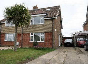Thumbnail 3 bed semi-detached house for sale in Heathfield Crescent, Whitchurch, Bristol