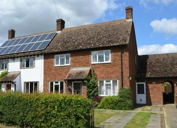 Thumbnail 3 bedroom semi-detached house for sale in Francis Road, Hinxworth, Baldock