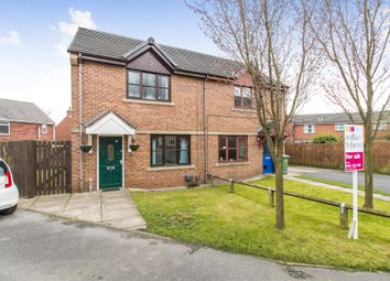 Thumbnail 2 bedroom semi-detached house for sale in Foxton Gardens, Morley, Leeds