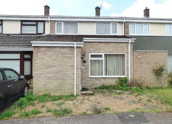 Thumbnail 3 bed terraced house for sale in Greenview Close, Kempston, Bedford
