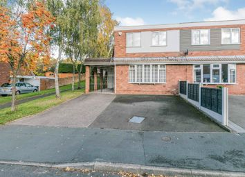Thumbnail Semi-detached house for sale in Woburn Drive, Halesowen