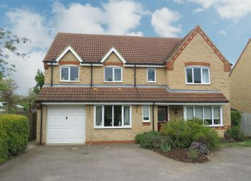 Thumbnail 5 bed detached house for sale in Fennel Drive, Biggleswade