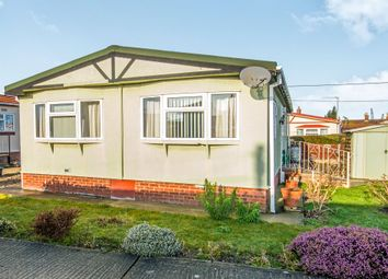 Thumbnail 2 bed mobile/park home for sale in Beeches Mobile Homes Park, Victoria Road, Lowestoft