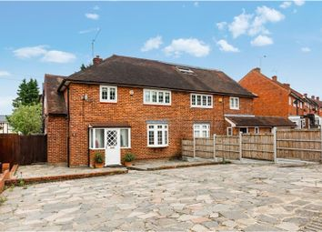 Thumbnail 4 bed semi-detached house for sale in Lawton Road, Loughton